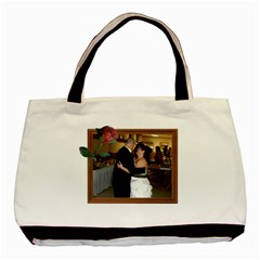 Rose And Wood Frame Classic Tote Bag Two Sides By Kim Blair   Basic Tote Bag (two Sides)   2rtzweqfqjam   Www Artscow Com Back