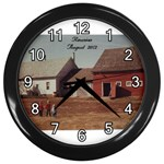 lizmarieA - Wall Clock (Black)