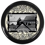 lizmarieB - Wall Clock (Black)
