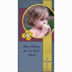 4x8 Photo Cards Religious Christmas Cards By Mikki   4  X 8  Photo Cards   6ce1ue17nv5w   Www Artscow Com 8 x4 Photo Card - 2