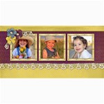 4x8 Photo Cards-Christmas Lace - 4  x 8  Photo Cards