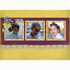 5x7 Photo Cards Christmas Lace By Mikki   5  X 7  Photo Cards   Zlgakxw4orj7   Www Artscow Com 7 x5 Photo Card - 7
