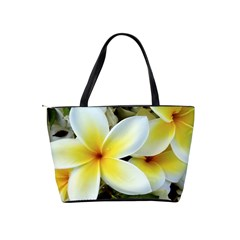 Tropical Frangipani Flower By Lou   Classic Shoulder Handbag   Rax12lfzcson   Www Artscow Com Back