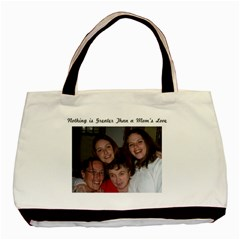 Christine Mom By Shelleyww42 Gmail Com   Basic Tote Bag (two Sides)   L2eibl8bptiw   Www Artscow Com Front