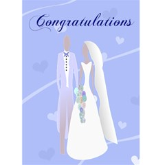 Congratulation On Your Wedding By Kim Blair   Greeting Card 5  X 7    U0vbhe4dxien   Www Artscow Com Front Cover