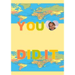You Did It By Malky   You Did It 3d Greeting Card (7x5)   Lsubgndb0uur   Www Artscow Com Inside