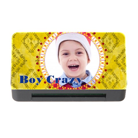 Boy Crazy By May   Memory Card Reader With Cf   C7ozujafj7hq   Www Artscow Com Front