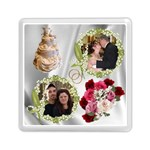 Wedding background Memory Card reader square - Memory Card Reader (Square)