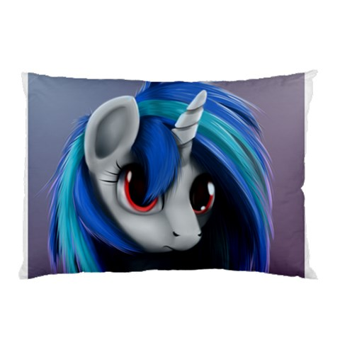 Vinyl By Bryce Campbell   Pillow Case   Guigjvlrvc8q   Www Artscow Com 26.62 x18.9 Pillow Case