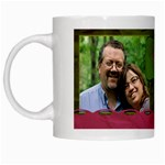 family mug two pictures - White Mug