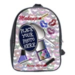 Large Backpack Makeup - School Bag (Large)