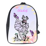 Fairy Book Bag Large - School Bag (Large)