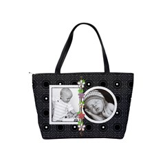 Polka Dot Classic Shoulder Handbag By Lil    Classic Shoulder Handbag   Np3bwsrw8qwd   Www Artscow Com Back