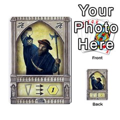 Notre Dame   Original Y Expansion   3 Copias By Doom18   Multi Purpose Cards (rectangle)   G2omai2clw0l   Www Artscow Com Front 40