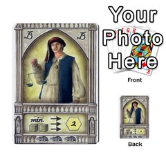 Notre Dame   Original Y Expansion Y Marrones   2 Copias By Doom18   Multi Purpose Cards (rectangle)   Vt6btk65lnk3   Www Artscow Com Front 7