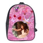Pink book bag Large - School Bag (Large)