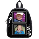 Black and White School Bag (Small)
