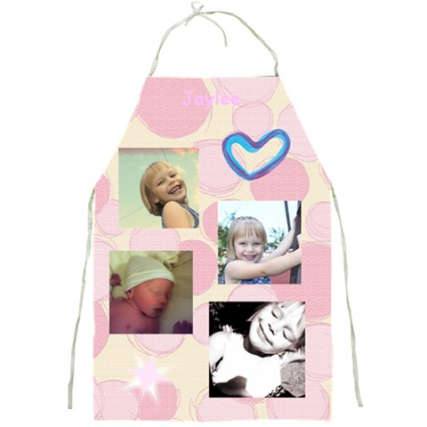 Jaylees Apron By Charnae   Full Print Apron   Wprbwflgza2n   Www Artscow Com Front