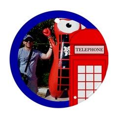 London Calling (2 Sided) Ornament By Deborah   Round Ornament (two Sides)   Joikvl5s3sdy   Www Artscow Com Back