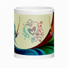 mystical bird mug by Kimmy Center