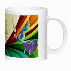 Mystical Bird Mug By Kimmy   Night Luminous Mug   Aimqsydxa1me   Www Artscow Com Right
