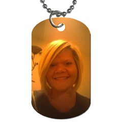 Kristin By Jennifer   Dog Tag (two Sides)   W632cxbgl6ja   Www Artscow Com Front