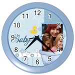 baby - Color Wall Clock