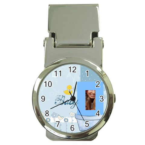 Baby By Jacob   Money Clip Watch   Omfhfmukyspc   Www Artscow Com Front