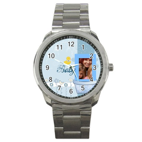 Baby By Jacob   Sport Metal Watch   Ay7x5t298vrv   Www Artscow Com Front