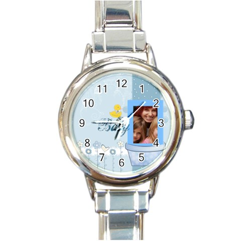 Baby By Jacob   Round Italian Charm Watch   Mk8a7t0pnth9   Www Artscow Com Front