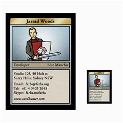 Jarrad Cards By Benjamin Lee   Multi Purpose Cards (rectangle)   Hzqxxj0ui9dc   Www Artscow Com Front 28