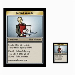 Jarrad Cards By Benjamin Lee   Multi Purpose Cards (rectangle)   Hzqxxj0ui9dc   Www Artscow Com Front 29