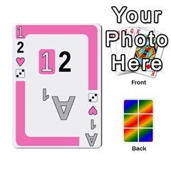 Rainbow Deck V2 0 Deck 1 By Changcai   Playing Cards 54 Designs   A4bc0rphafaf   Www Artscow Com Front - Heart3