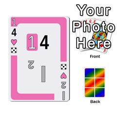 Rainbow Deck V2 0 Deck 1 By Changcai   Playing Cards 54 Designs   A4bc0rphafaf   Www Artscow Com Front - Heart5