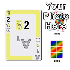 Rainbow Deck V2 0 Deck 1 By Changcai   Playing Cards 54 Designs   A4bc0rphafaf   Www Artscow Com Front - Club4