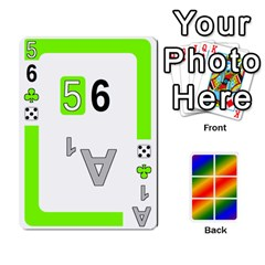 Rainbow Deck V2 0 Deck 2 By Changcai   Playing Cards 54 Designs   Bxpdo2h5wgo2   Www Artscow Com Front - Heart7