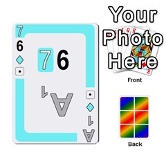 Rainbow Deck V2 0 Deck 2 By Changcai   Playing Cards 54 Designs   Bxpdo2h5wgo2   Www Artscow Com Front - Club8