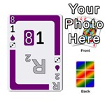 Rainbow Deck v2.0 Deck 3 - Playing Cards 54 Designs