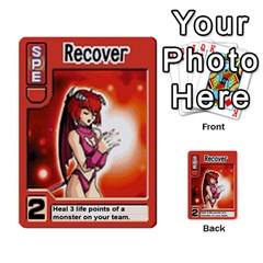 Monster Rancher Deck 1 By Joe Rowland Hotmail Co Uk   Multi Purpose Cards (rectangle)   Zui32aoroqob   Www Artscow Com Front 14