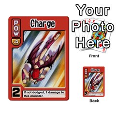 Monster Rancher Deck 1 By Joe Rowland Hotmail Co Uk   Multi Purpose Cards (rectangle)   Zui32aoroqob   Www Artscow Com Front 21