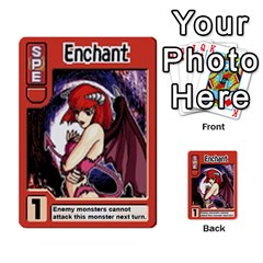 Monster Rancher Deck 1 By Joe Rowland Hotmail Co Uk   Multi Purpose Cards (rectangle)   Zui32aoroqob   Www Artscow Com Front 22
