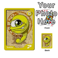 Monster Rancher Deck 1 By Joe Rowland Hotmail Co Uk   Multi Purpose Cards (rectangle)   Zui32aoroqob   Www Artscow Com Front 26