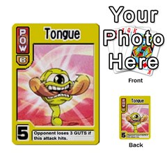Monster Rancher Deck 1 By Joe Rowland Hotmail Co Uk   Multi Purpose Cards (rectangle)   Zui32aoroqob   Www Artscow Com Front 29