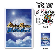 Monster Rancher Deck 1 By Joe Rowland Hotmail Co Uk   Multi Purpose Cards (rectangle)   Zui32aoroqob   Www Artscow Com Back 30