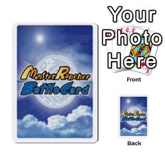 Monster Rancher Deck 1 By Joe Rowland Hotmail Co Uk   Multi Purpose Cards (rectangle)   Zui32aoroqob   Www Artscow Com Back 4
