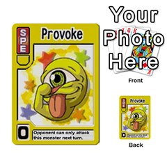 Monster Rancher Deck 1 By Joe Rowland Hotmail Co Uk   Multi Purpose Cards (rectangle)   Zui32aoroqob   Www Artscow Com Front 42