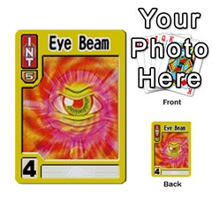 Monster Rancher Deck 1 By Joe Rowland Hotmail Co Uk   Multi Purpose Cards (rectangle)   Zui32aoroqob   Www Artscow Com Front 46