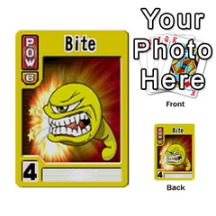 Monster Rancher Deck 1 By Joe Rowland Hotmail Co Uk   Multi Purpose Cards (rectangle)   Zui32aoroqob   Www Artscow Com Front 48