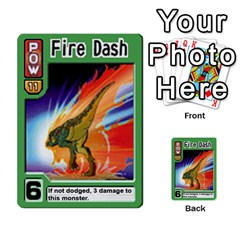 Monster Rancher Deck 2 By Joe Rowland Hotmail Co Uk   Multi Purpose Cards (rectangle)   4vad7mi6u22p   Www Artscow Com Front 51