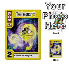 Monster Rancher Deck 2 By Joe Rowland Hotmail Co Uk   Multi Purpose Cards (rectangle)   4vad7mi6u22p   Www Artscow Com Front 4